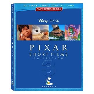 Pixar Short Films Collection: Vol. 3 (Blu-Ray + Digital)