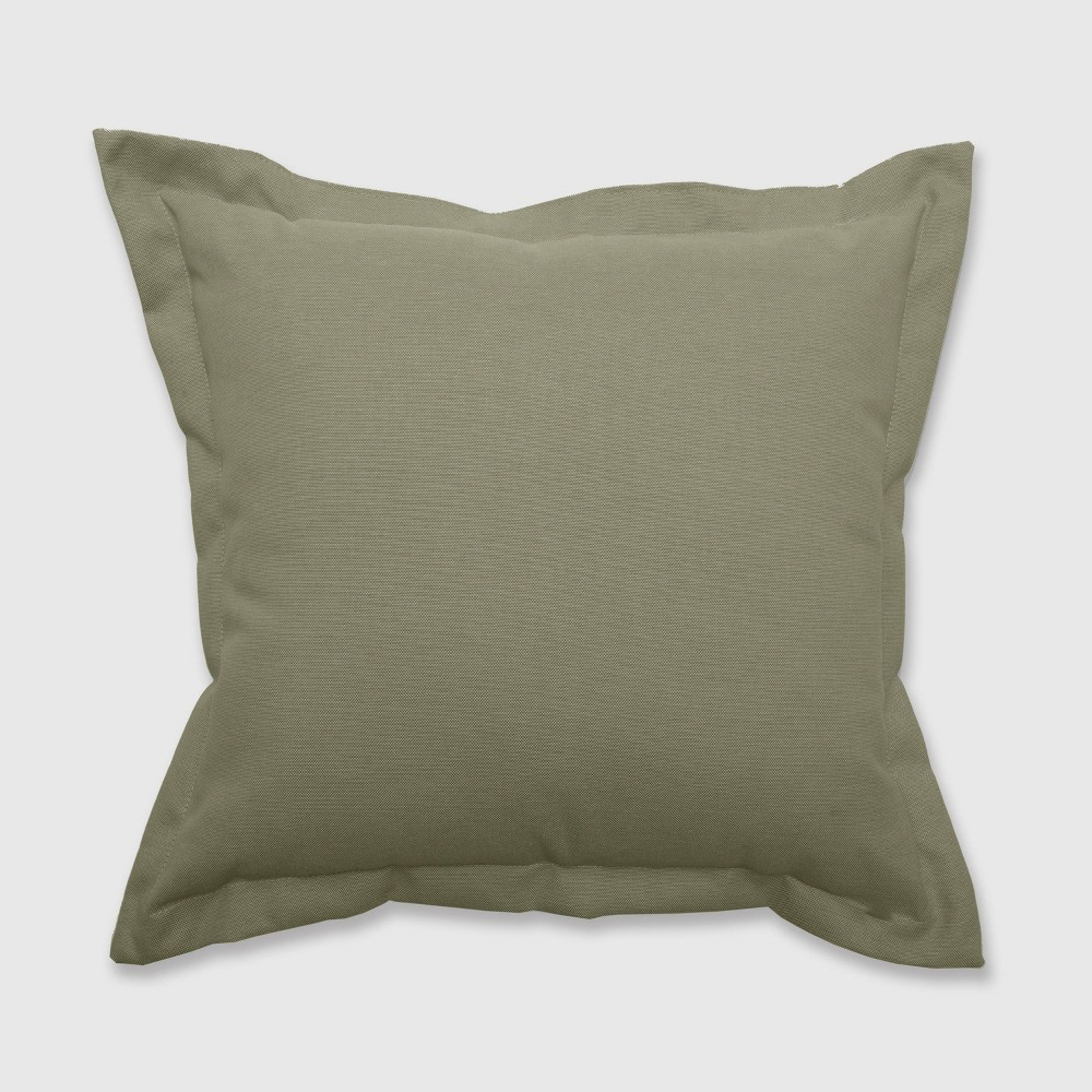 Outdoor Deep Seat Pillow Back Cushion Sage (Green) - Threshold