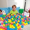 Bestway Fisher Price 93510E Small Plastic Multi-Colored Play Balls, 100 Count - image 2 of 4