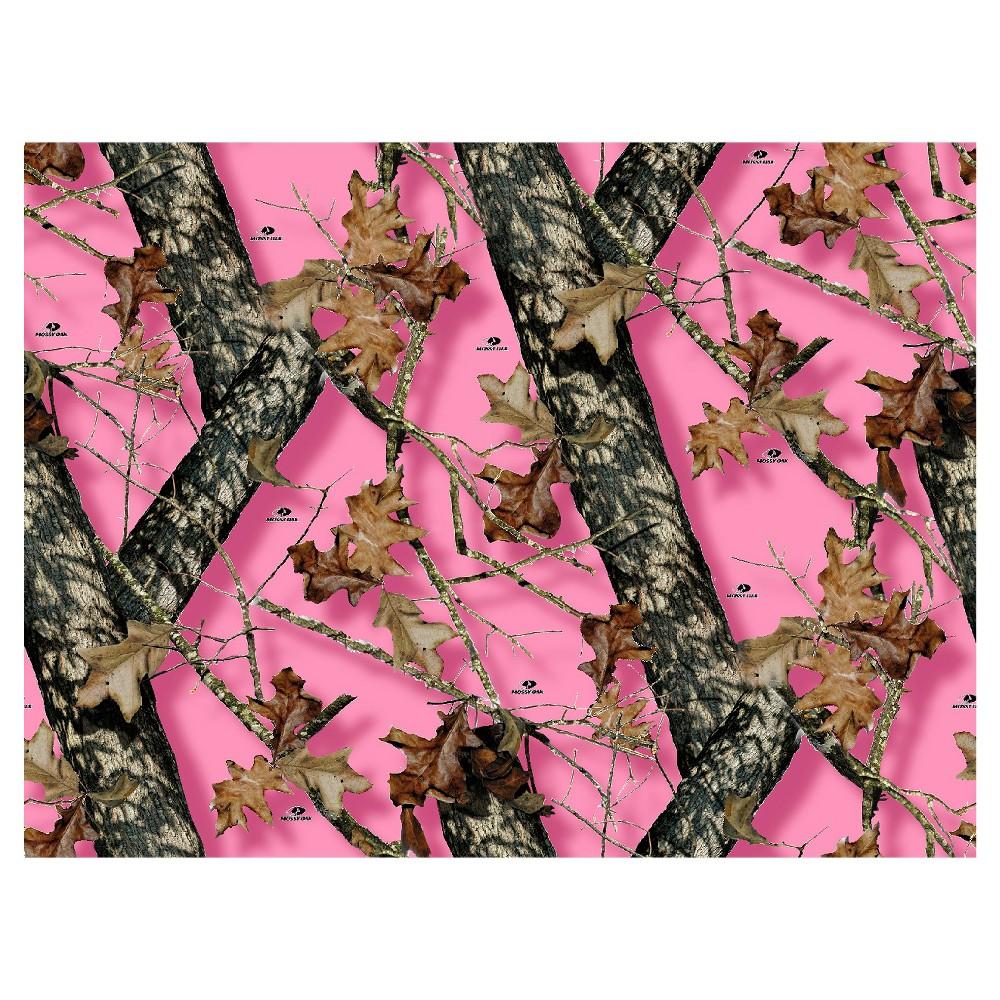 Mossy Oak Breakup Pink Fleece Fabric thumbnail