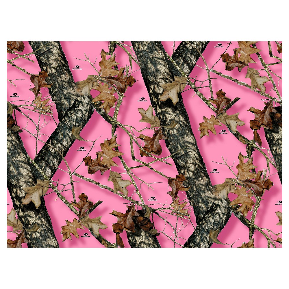 Image of Mossy Oak Breakup Pink Fleece Fabric