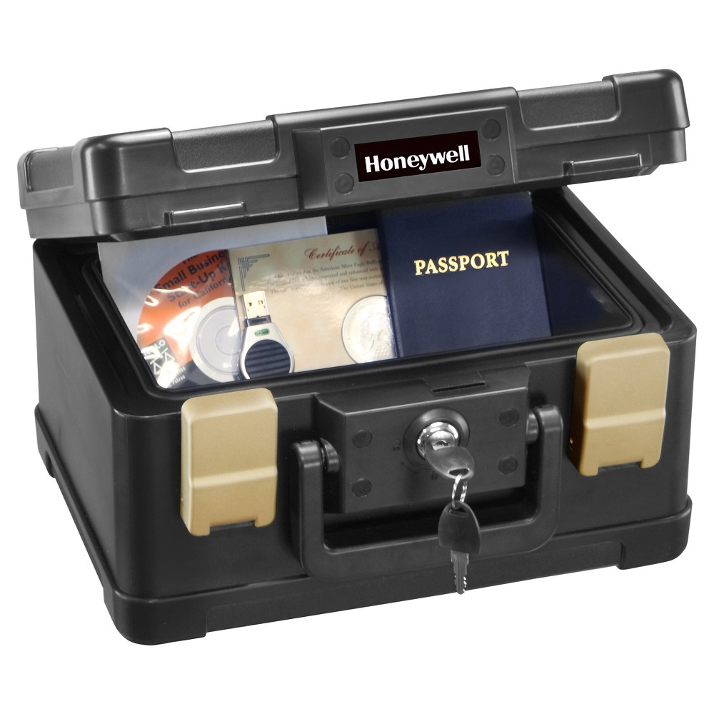 Image of Honeywell 0.15 cu ft/Waterproof 1/2 Hr. UL Fire Document Chest