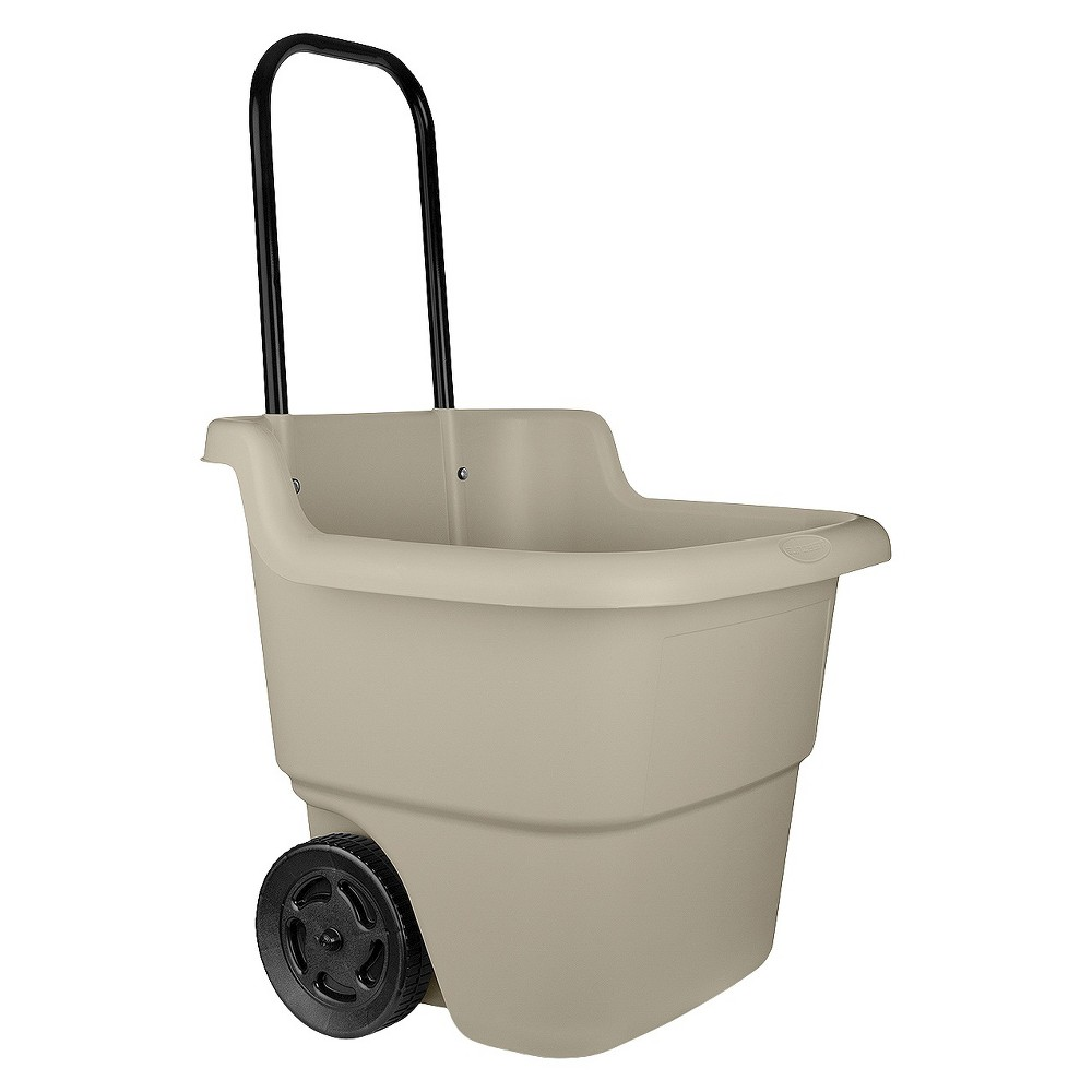 Image of Lawn Cart - Soft Taupe - Suncast, Brown
