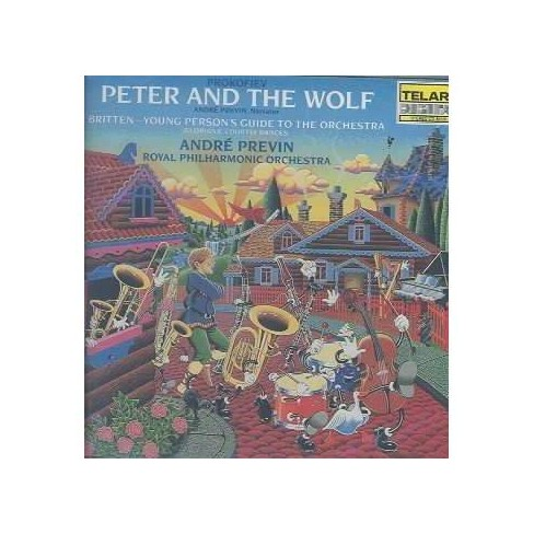 Britten - Prokofiev: Peter and the Wolf; Britten: Young Person's Guide to the Orchestra (CD) - image 1 of 1