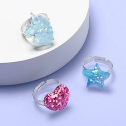 Girls' 3pk Ring Set - More Than Magic™