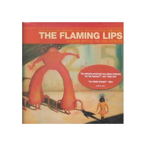 The Flaming Lips - Yoshimi Battles the Pink Robots (CD) - image 1 of 3