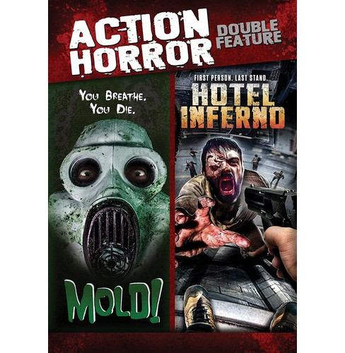 Action Horror Double Feature (DVD) - image 1 of 1