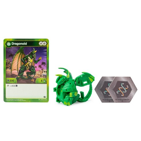 """Bakugan Ventus Dragonoid 2"""" Collectible Action Figure and Trading Card - image 1 of 4"""