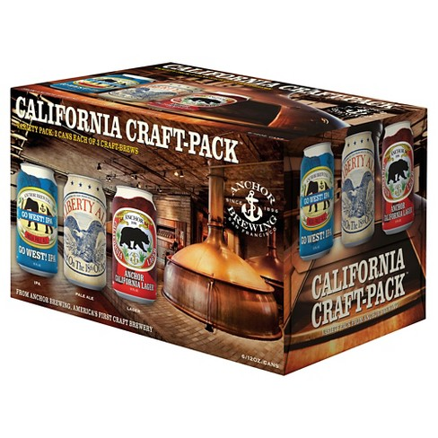 Anchor® California Craft Pack - 6pk / 12oz Cans - image 1 of 1