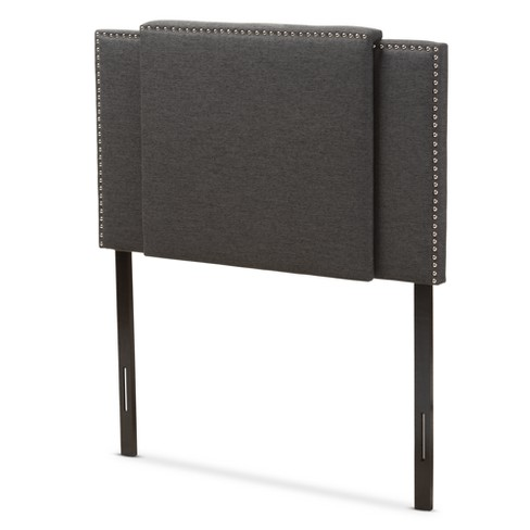 Ibbie Modern and Contemporary Fabric Expandable Headboard - Baxton Studio - image 1 of 12