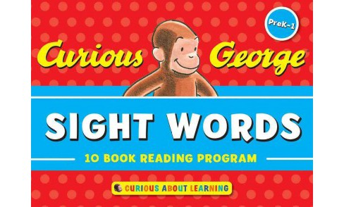 Curious George Sight Words PreK-1 : 10 Book Reading Program - by Francie Alexander & Jessica Wollman & - image 1 of 1
