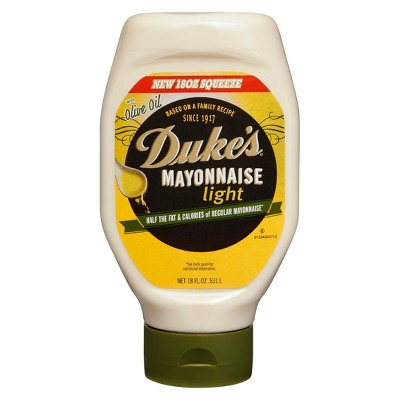 Mayonnaise: Duke's Light with Olive Oil