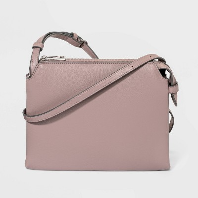 Double Gusset Crossbody Bag - A New Day™