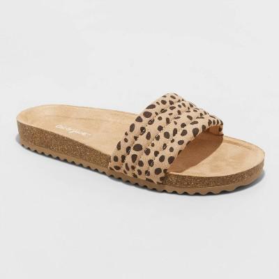 Girls' Selma Slip-On Footbed Sandals - Cat & Jack™