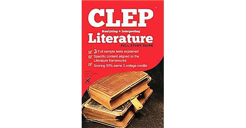 Clep Analyzing and Interpreting Literature 2017 (Paperback) (Heather M. Hilliard) - image 1 of 1