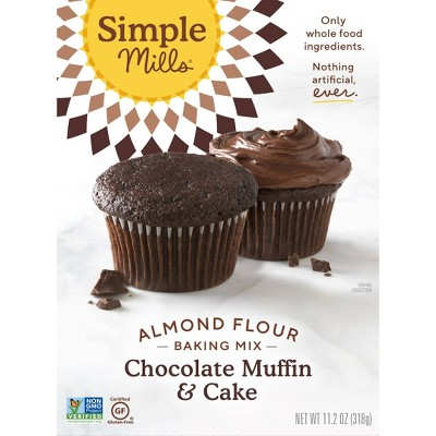 Baking Mixes: Simple Mills Chocolate Muffin & Cake Almond Flour Mix