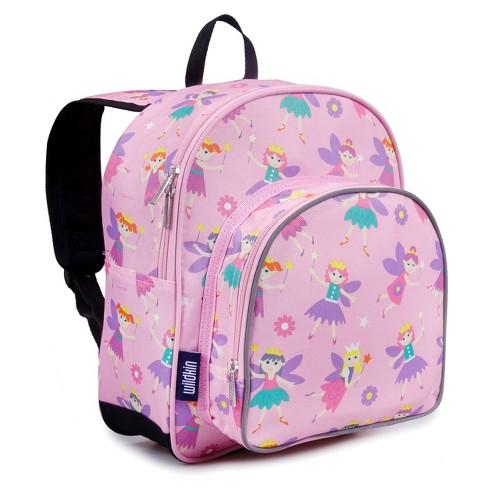"""Wildkin Olive 12"""" Kids' Fairy Princess Pack 'n Snack Backpack - image 1 of 3"""