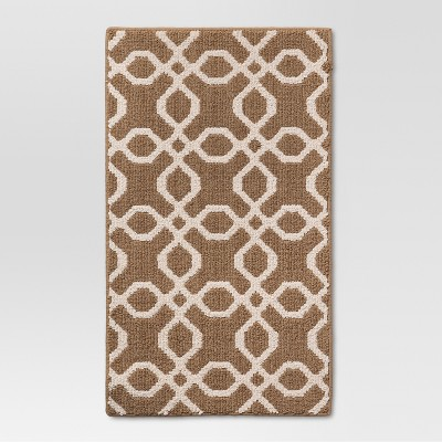 4'x5'6  Trellis Accent Rug Tan - Threshold™