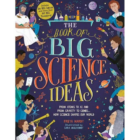 The Book of Big Science Ideas - by  Freya Hardy (Hardcover) - image 1 of 1
