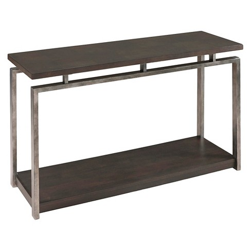 Alton Rectangular Sofa Table - Platinum Charcoal - Magnussen Home - image 1 of 1