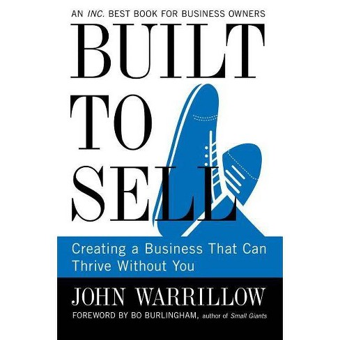 Built to Sell - by  John Warrillow (Paperback) - image 1 of 1
