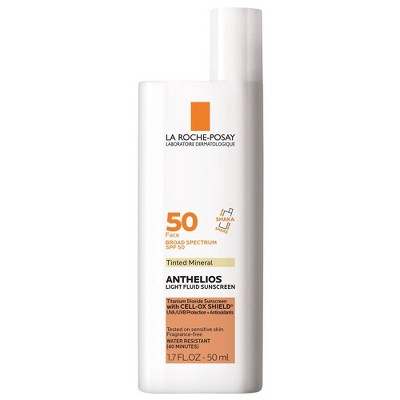 La Roche Posay Anthelios 50 Mineral Ultra Light Tinted Face Sunscreen - SPF 50 - 1.7 fl oz