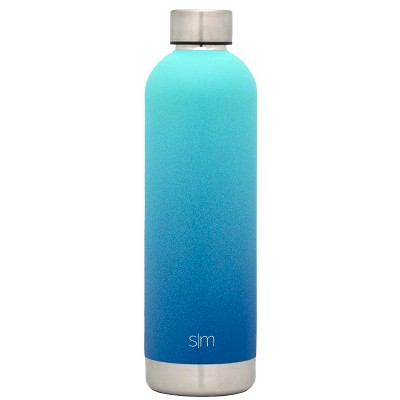 Simple Modern Bolt 25oz Stainless Steel Water Bottle Ombre Turquoise