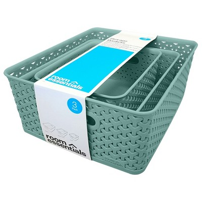 3pc Y-Weave New Medium Value Pack Jade Green 5 x11  - Room Essentials™