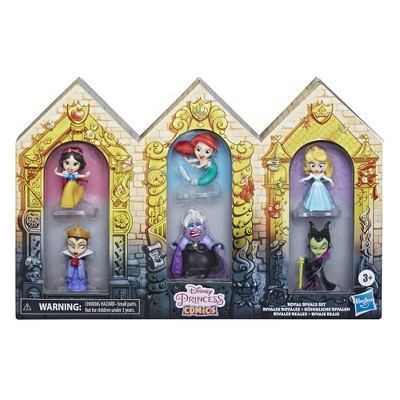 Disney Princess Comic Royal Rivals Set
