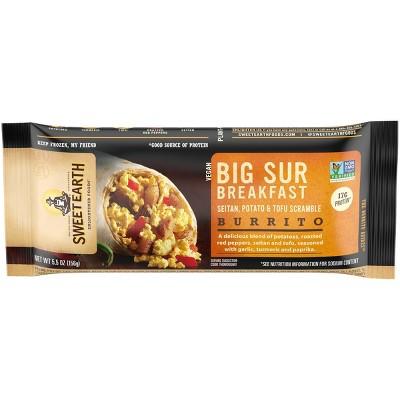 Sweet Earth Big Sur Frozen Breakfast Burrito - 5.5oz