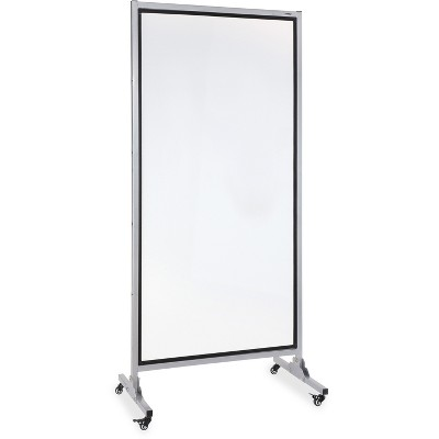 """Lorell 2-Sided Dry Erase Easel 37-1/2""""x82-1/2"""" Black 55630"""