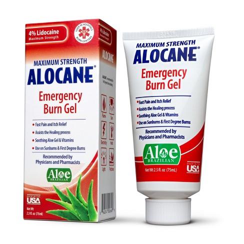 Alocane Maximum Strength Emergency Burn Gel - 2.5oz - image 1 of 3