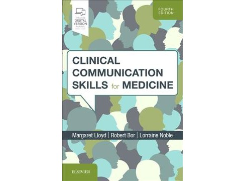 Clinical Communication Skills for Medicine - 4 PAP/PSC by M.D. Margaret Lloyd & Robert Bor & Noble  - image 1 of 1