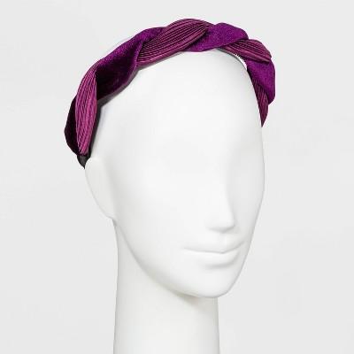 Velvet Twist Headband - A New Day™