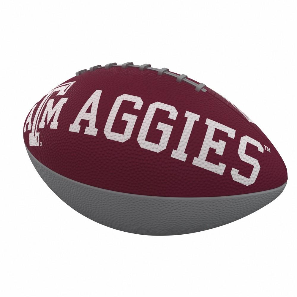 NCAA Texas A&m Aggies Combo Logo Junior-Size Rubber Football