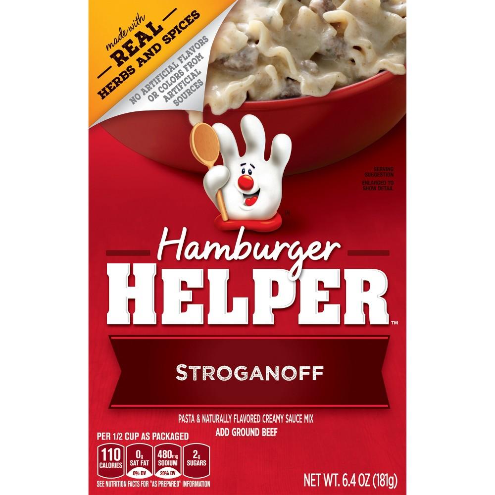Hamburger Helper Stroganoff 6.4 oz