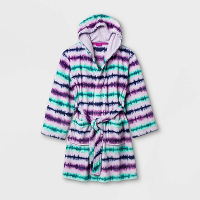 Girls' Tie-Dye Robe - Cat & Jack™ Purple