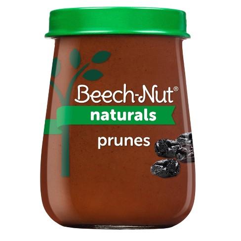 Beech-Nut Naturals Prunes Baby Food Jar - 4oz - image 1 of 4