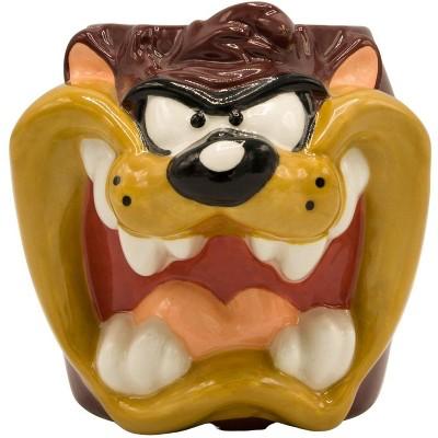 Silver Buffalo Looney Toons Taz 24 Ounce Sculpted Ceramic Mug