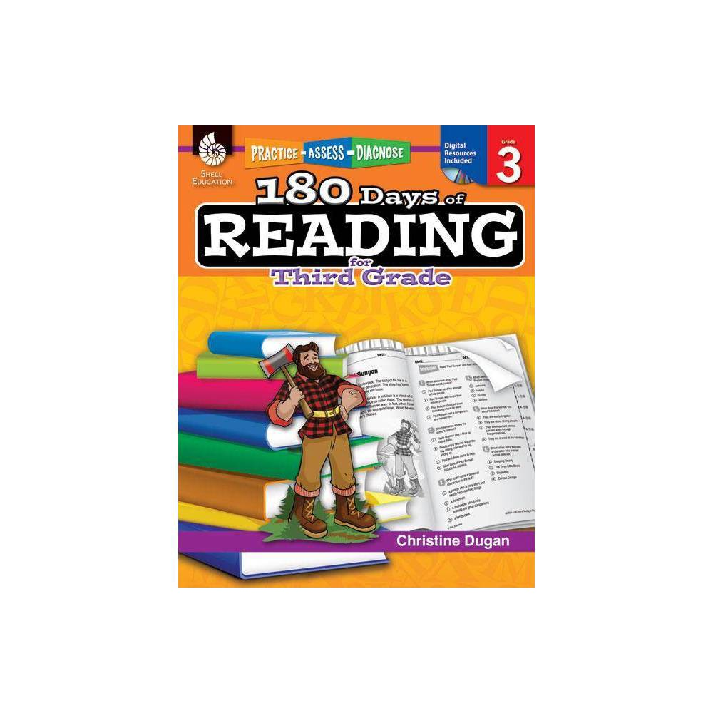 180 Days Of Reading For Third Grade 180 Days Of Practice By Christine Dugan Paperback