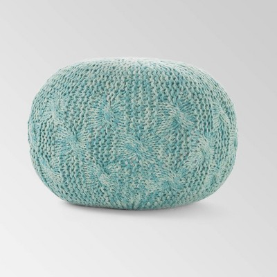 Behring Fabric Weave Pouf - Christopher Knight Home