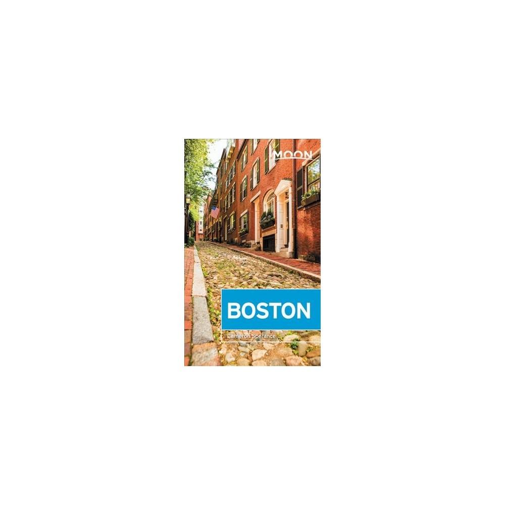 Moon Boston - Pap/Map (Moon Boston) by Cameron Sperance (Paperback)