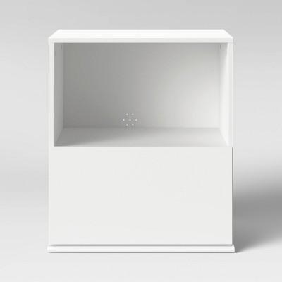 1 Drawer Modular Nightstand White - Room Essentials™