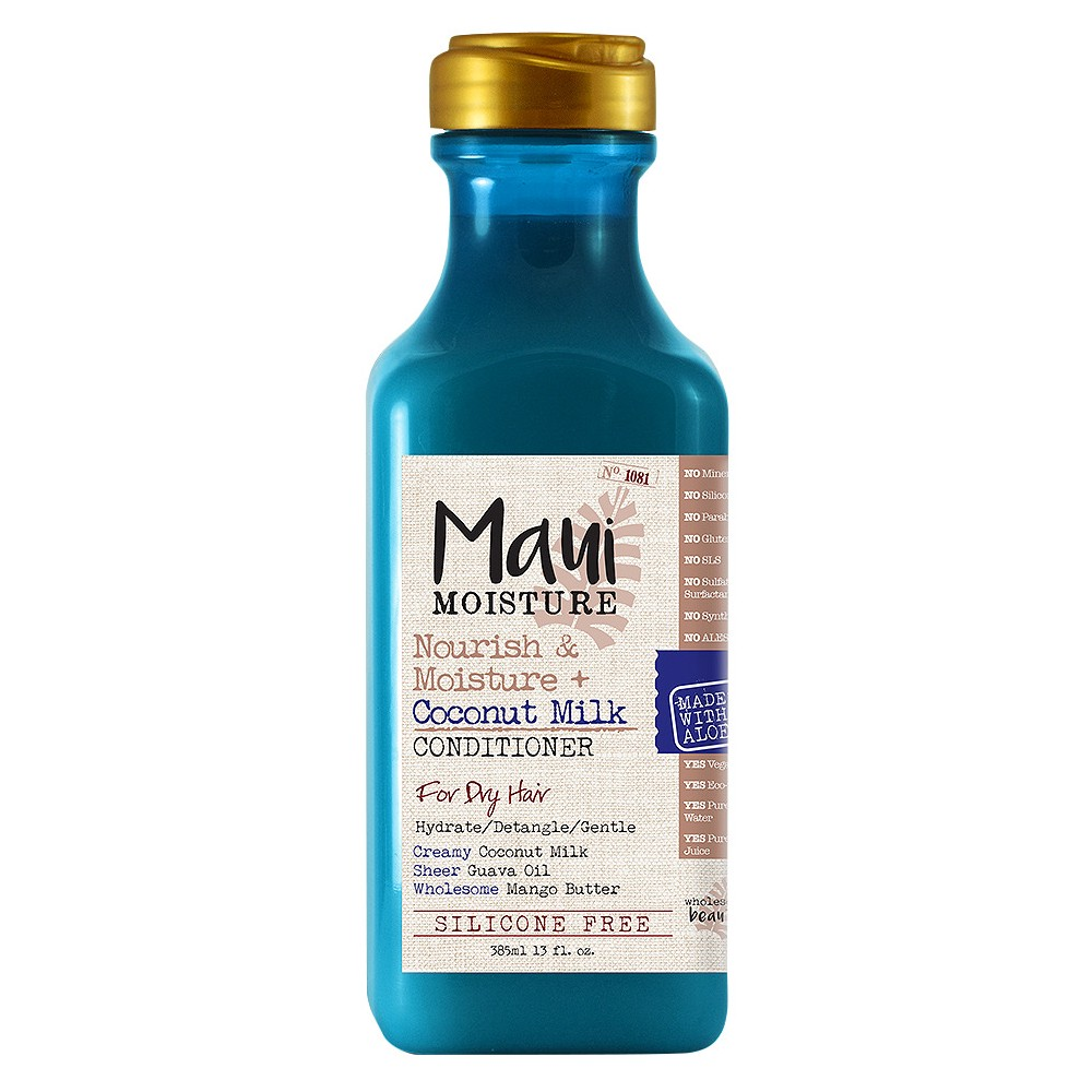 Image of Maui Moisture Nourish & Moisture + Coconut Milk Conditioner for Dry Hair - 13 fl oz