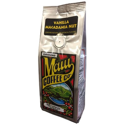 Maui Vanilla Macadamia Nut Medium Roast Ground Coffee - 7oz