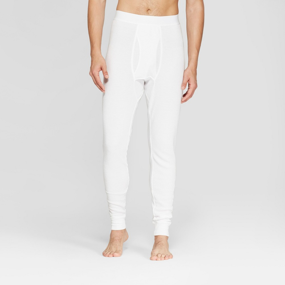 Men's Tall Thermal Underpants - Goodfellow & Co White LT