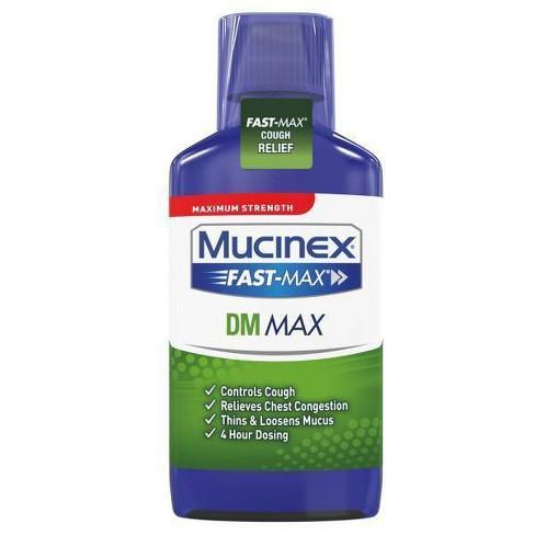 Mucinex DM Fast Max Cough Suppressant & Expectorant Liquid - Original - 6 fl oz - image 1 of 3