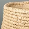 Indoor/Outdoor Concrete Basket Planter - Hearth & Hand™ with Magnolia - image 4 of 4
