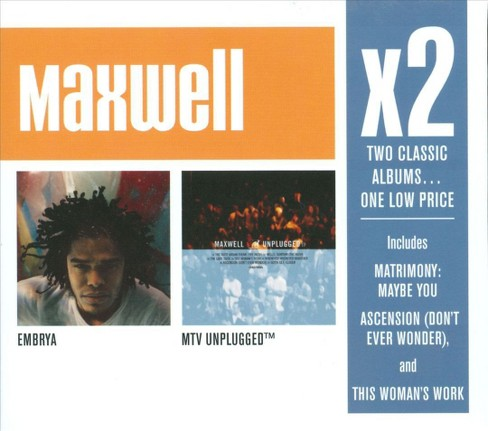 Maxwell - Embrya/Maxwell MTV Unplugged (CD) - image 1 of 1