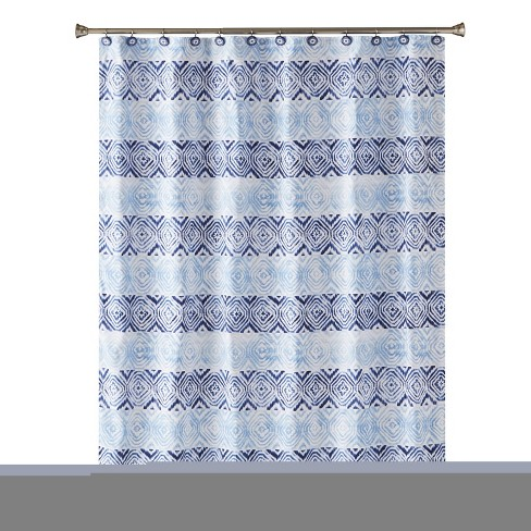 Kali Diamonds Shower Curtain Blue Saturday Knight Ltd Target